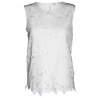 Oui vrouwen mouwloos Lace Top