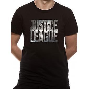 Justice League Movie - Logo (Unisex)  T-Shirt