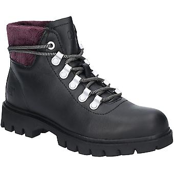 Caterpillar Womens Handshake Leather Lightweight Ankle Boots