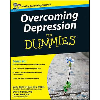 Overcoming Depression For Dummies by Elaine Iljon Foreman - Laura L.