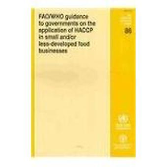 FAO / OMS des conseils aux gouvernements sur l'Application du système HACCP dans les petites