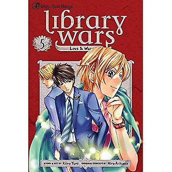 Biblioteket krige: Kærlighed & krig, bind 5