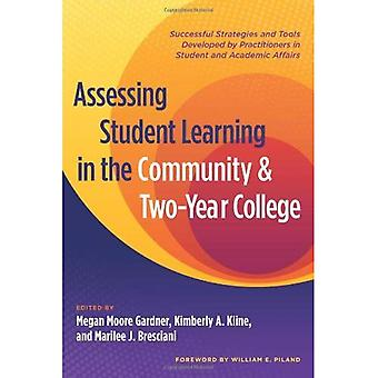 Assessing Student Learning in the Community and Two Year College: Successful Strategies and Tools Developed by...