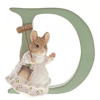 Beatrix Potter Alphabet Letter D Hunca Munca Figurine