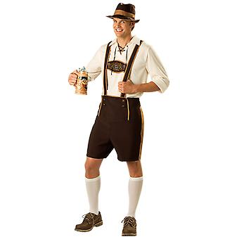 Mens Bavarian Oktoberfest Stag Night Germany Fancy Dress Costume