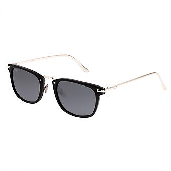 Simplificar Theyer polarizado gafas de sol - negro/negro