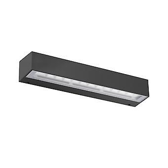 Faro - Tacana mørk grå ledet utendørs veggen lys FARO71048