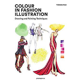 Colour in Fashion Illustration - Drawing and Painting Techniques by Co