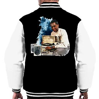 TV Times Andi Peters With A HiFi 1988 Men's Varsity Jacket