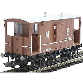 Hornby R6833A LNER diagramma rospo 034 B 20t freno Van