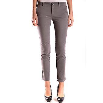 Liu Jo Ezbc086113 Women's Brown Cotton Pants