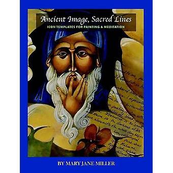 Alten Heiligen LinesIconographic Bildvorlagen für Malerei-Meditation von MIller & Mary Jane