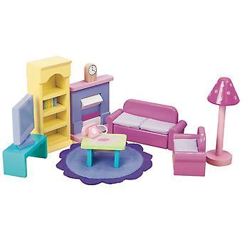 Le Toy Van Doll House Sugar Plum Sitting Room