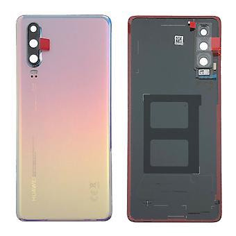 Huawei batteri luckan batteri omslaget batteriluckan andning Crystal för P30 02352NMP reparation nya