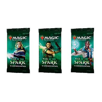 Magic de Gathering-War van de Spark boosters 3-pack