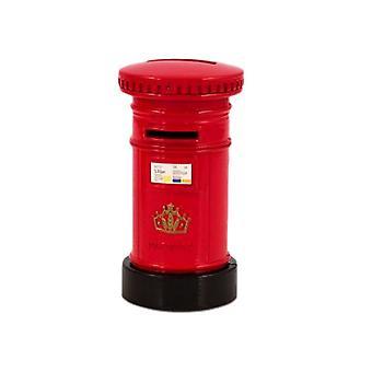 Souvenir Red Post Box Money Bank