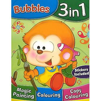 Bubbles 3 in 1 by Sterling Publishers - 9788120761520 Book