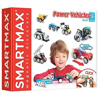 SmartMax Power Vehicles Play Magnetic Building Set 25 PCs