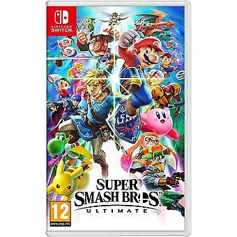 Super Smash Bros Ultimate Nintendo Switch peli