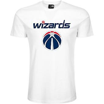 New Era Basic Shirt - NBA Washington Wizards weiß