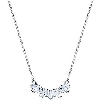 Sunshine de Swarovski collier - White - rhodiage