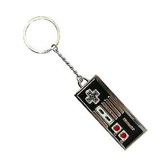 NES Controller Enamel Metal Keyring