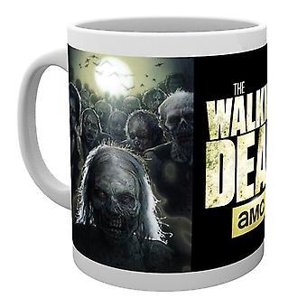 Gli zombie morti ambulante Boxed Mug bevente