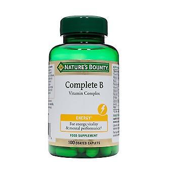 Nature's Bounty Complete B Vitamin Complex 100 (N1250)