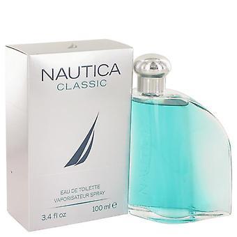 Nautica classic eau de toilette spray by nautica 460226 100 ml