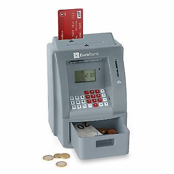 Tirelire avec carte bancaire