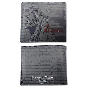 Wallet - Attack on Titan - New Titan's Weakness Anime Licensed ge61792