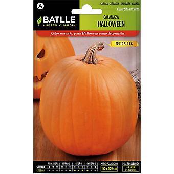 Batlle Halloween Pumpkin (Garden , Gardening , Seeds)