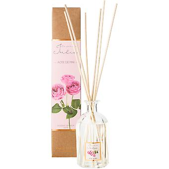 Le jardin de julie Mikado 150Ml Rose De Mai