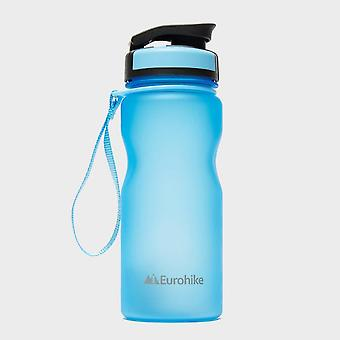 New Eurohike Running Cycling Hydration Flip Bottle 650ml Light Blue