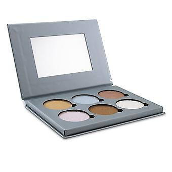 Bellapierre Cosmetics Glowing Palette 2 (6x Illuminator) - 17.28g/0.6oz