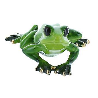 Glass Tree Frog Squatting