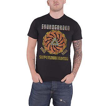 Soundgarden T Shirt Superunknown Tour 1994 Distressed Official Mens New Black