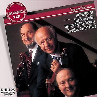 F. Schubert - Schubert: The Piano Trios [1984] [CD] EUA importar