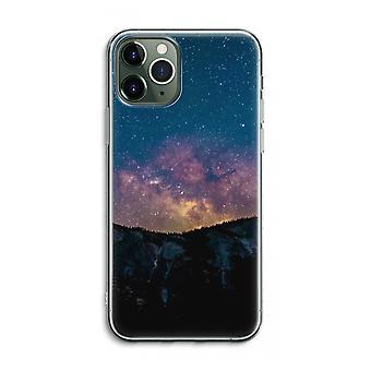 IPhone 11 Pro Max Funda transparente (Suave) - Viaje al espacio