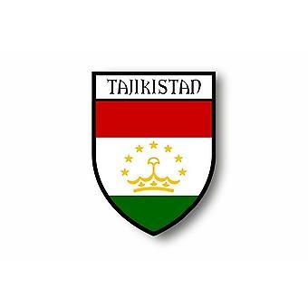 Sticker Sticker Motorcycle Car Blason City Flag Tajikistan Tajik