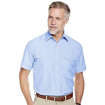 Pegasus Mens Korte mouw Pilot Shirt