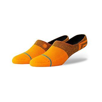 Stance Gamut 2 No Show Socks in Tangerine