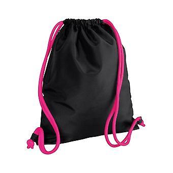Bagbase ikonen dragsko väska/Gymsac (förpackning med 2)