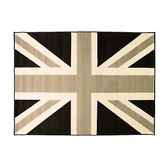 Element Buckingham Rug - Rectangular - Grey/cream/black