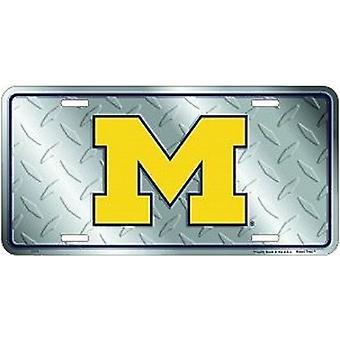 Michigan Wolverines NCAA Diamond kenteken