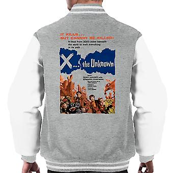 Hammer Horror Films X The Unknown It Cannot Be Killed Men's Varsity Jacket