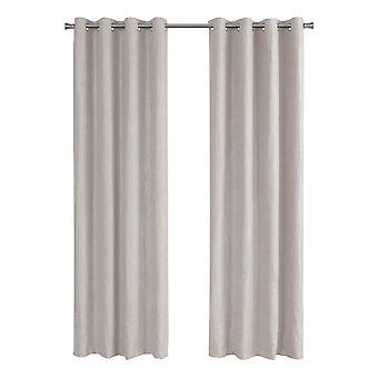 "52"" x 95"" Ivory, Room Darkening - Curtain Panel 2pcs"
