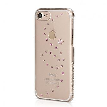 Hull For IPhone 8 / Iphone 7 Butterfly Rose Sparkles With Swarovski Crystals