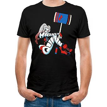 Batman Unisex Adultos Harley Quinn Pose Design T-Shirt