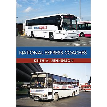 National Express coaches van Keith Jenkinson